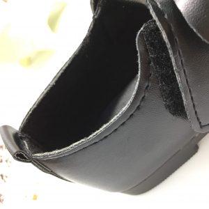 兒童皮鞋車線接合