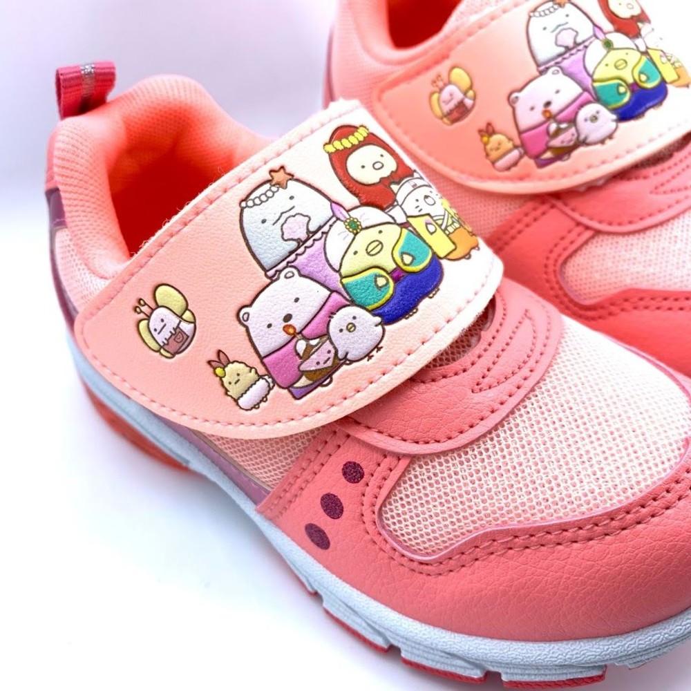 【台灣製現貨】角落小夥伴運動燈鞋-粉色