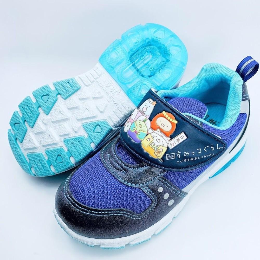 【台灣製現貨】角落小夥伴運動燈鞋-藍色