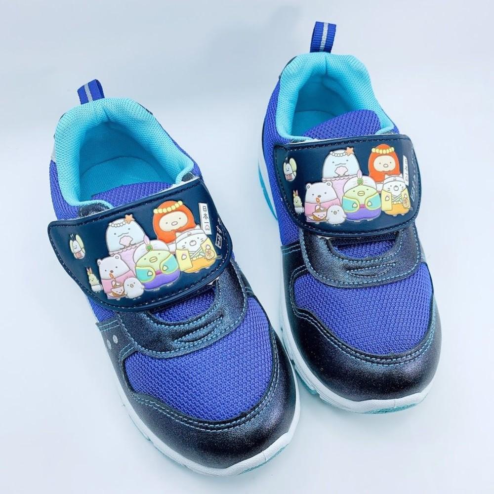B006-【台灣製現貨】角落生物小夥運動燈鞋-藍色