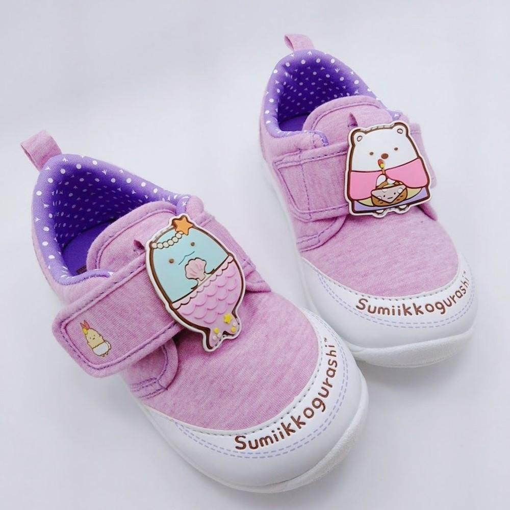 【台灣製現貨】角落小夥伴寶寶鞋-紫色