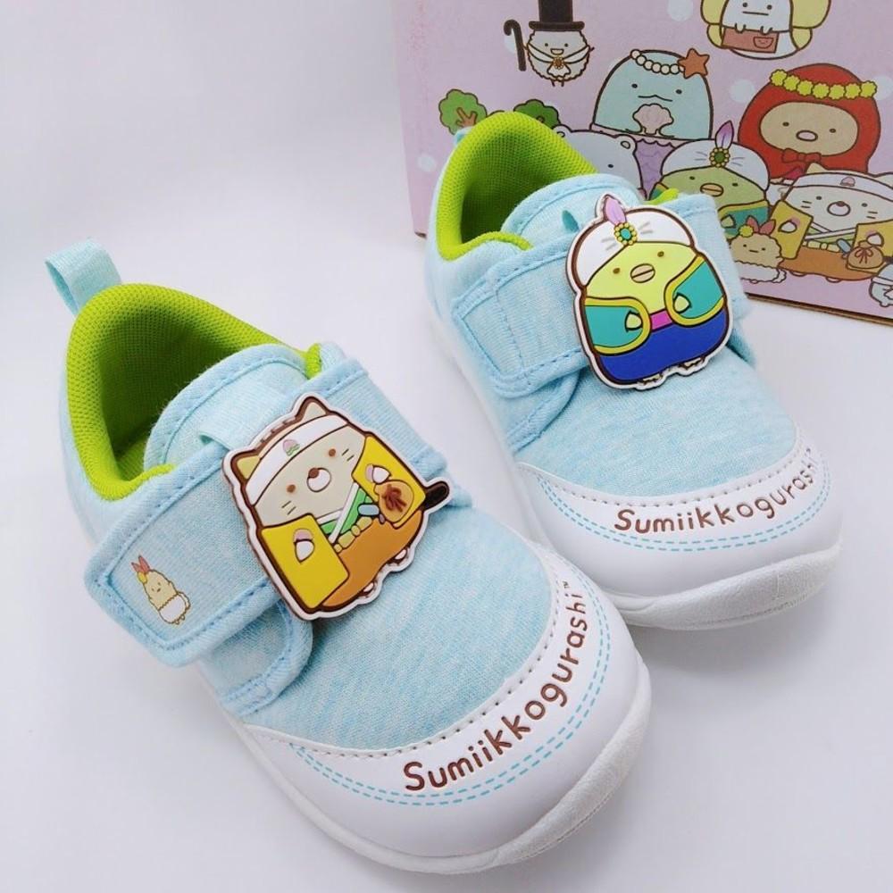 B010-台灣製角落小夥伴寶寶鞋-藍色