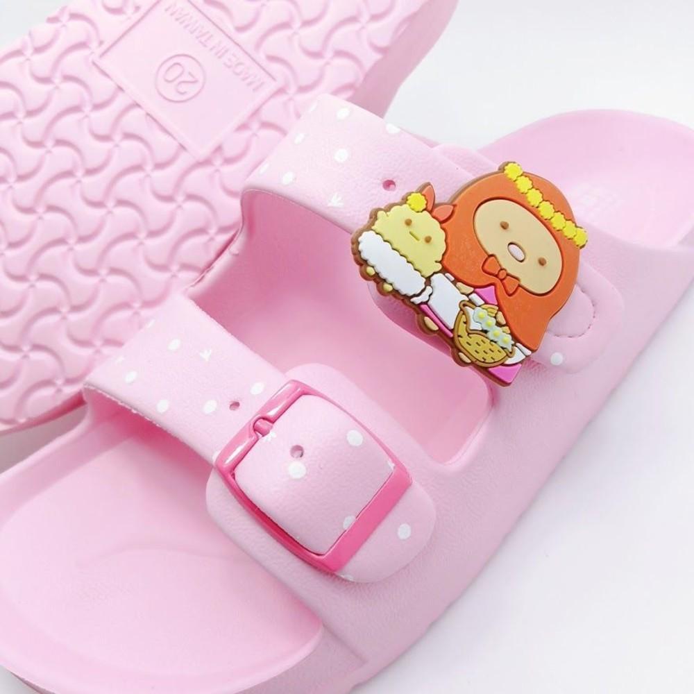 【台灣製現貨】角落小夥伴勃肯拖鞋-粉色