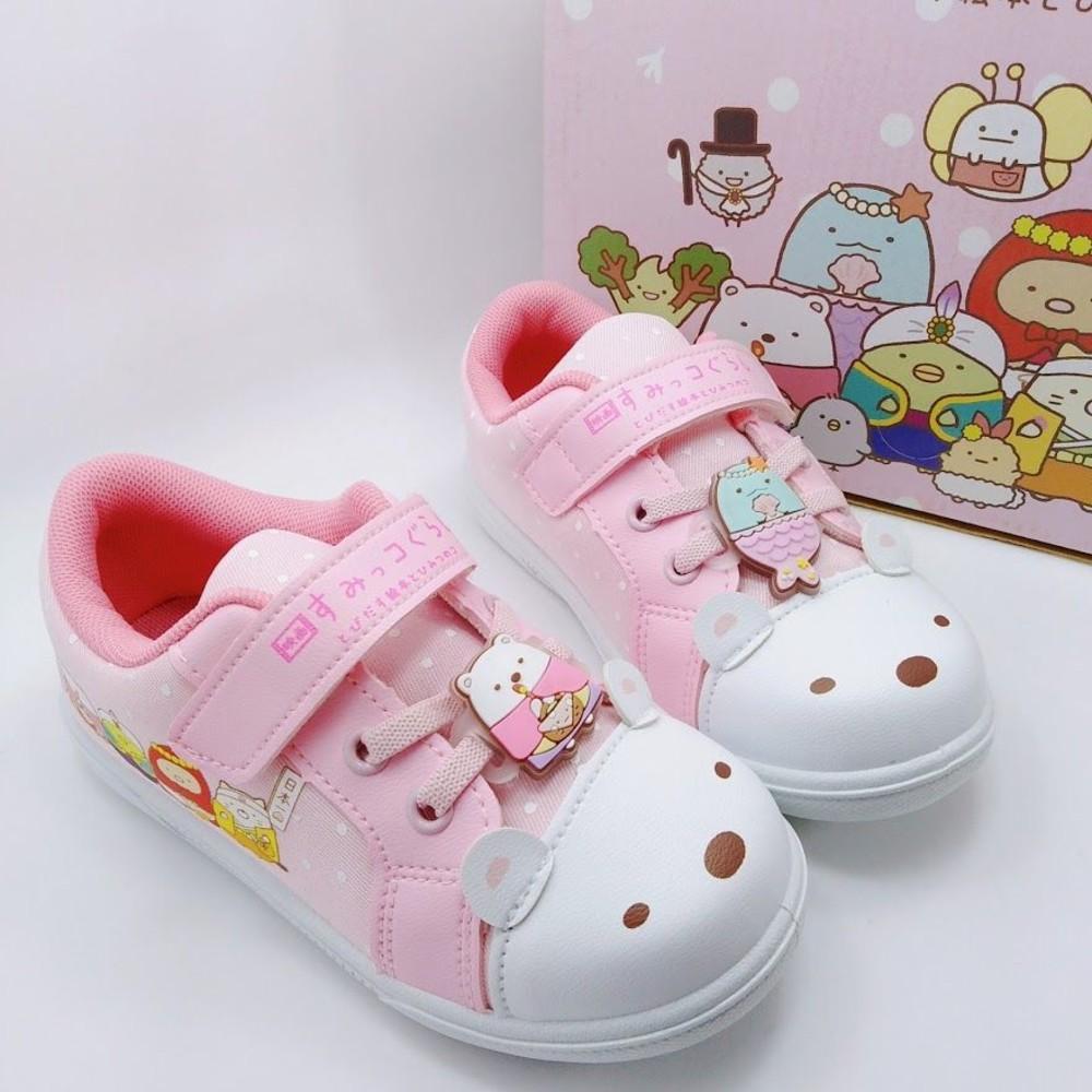 B013-【台灣製現貨】角落小夥伴休閒鞋-粉色