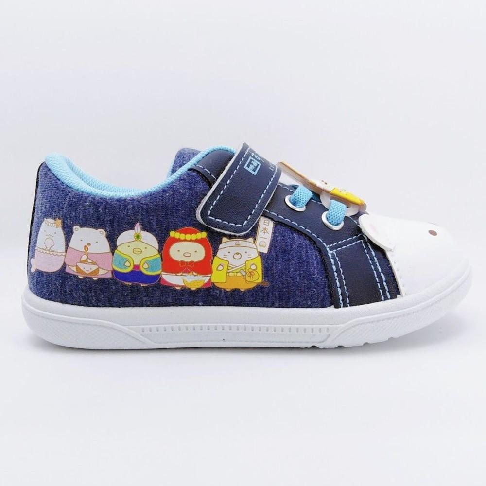 【台灣製現貨】角落小夥伴休閒鞋-藍色