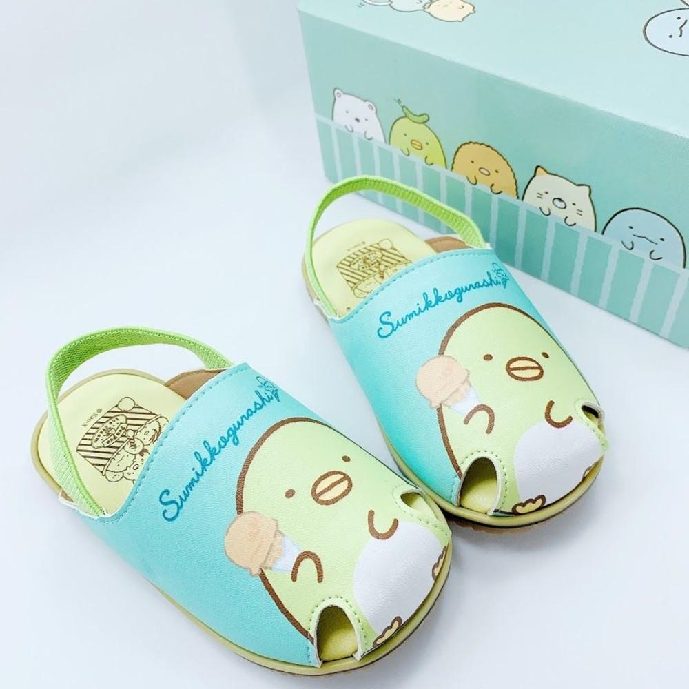 台灣製角落生物寶寶涼鞋-白色