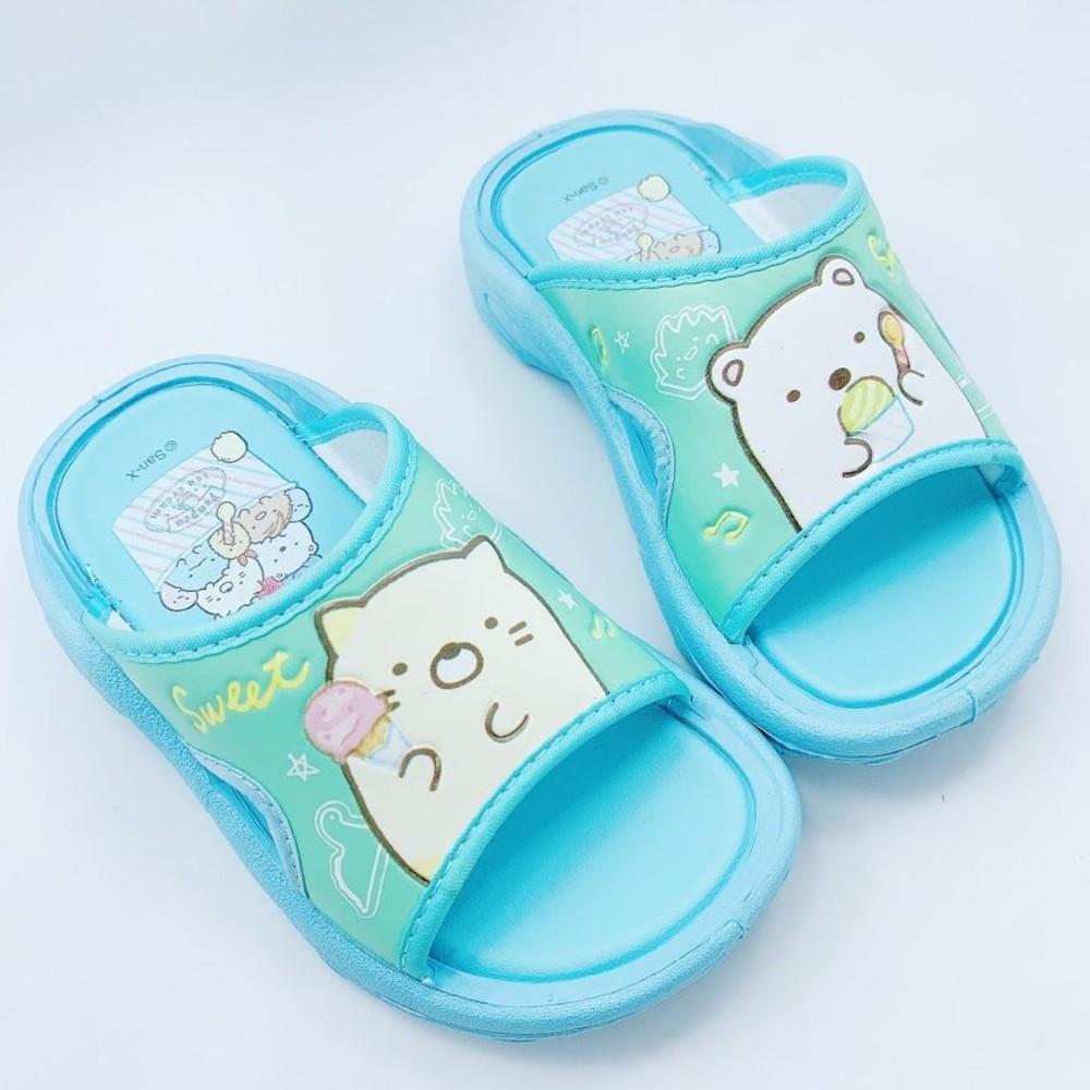 童鞋 台灣製角落生物拖鞋-藍色