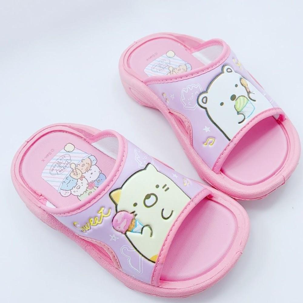 童鞋 台灣製角落生物拖鞋-粉色
