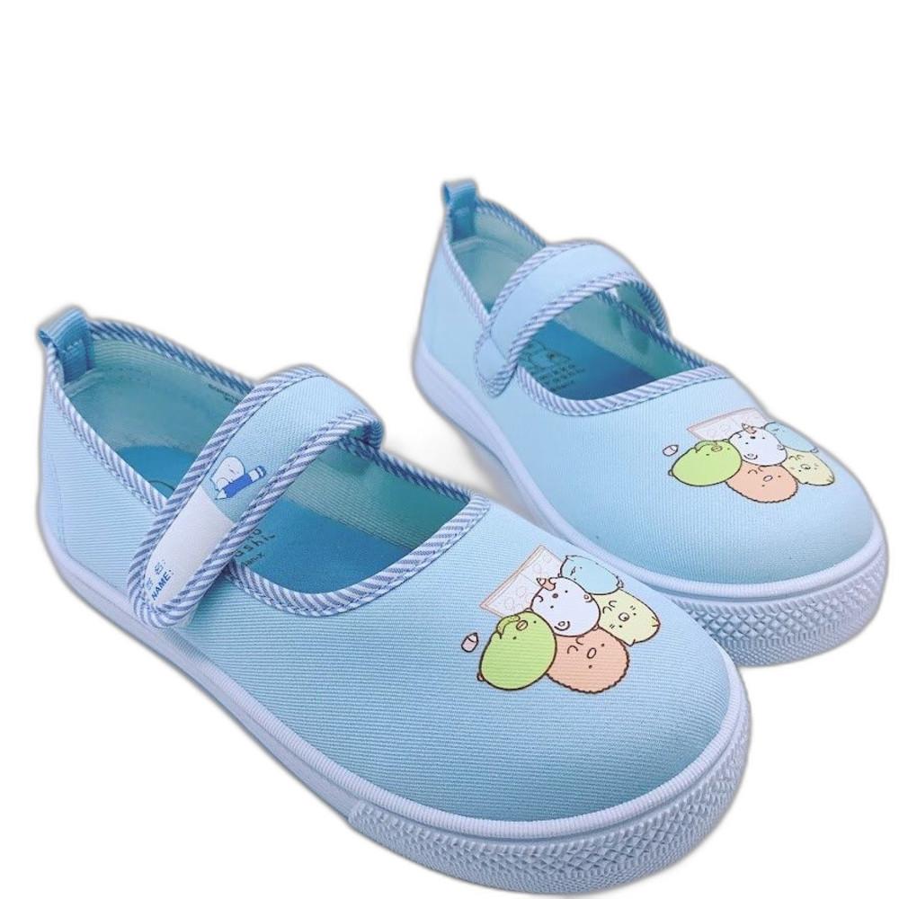 B018-1 - 台灣製角落生物休閒鞋-水藍