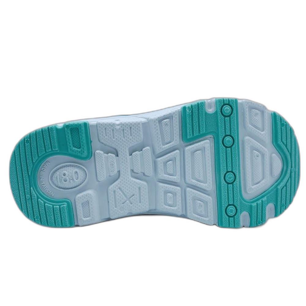 台灣製角落生物電燈運動鞋-湖水藍