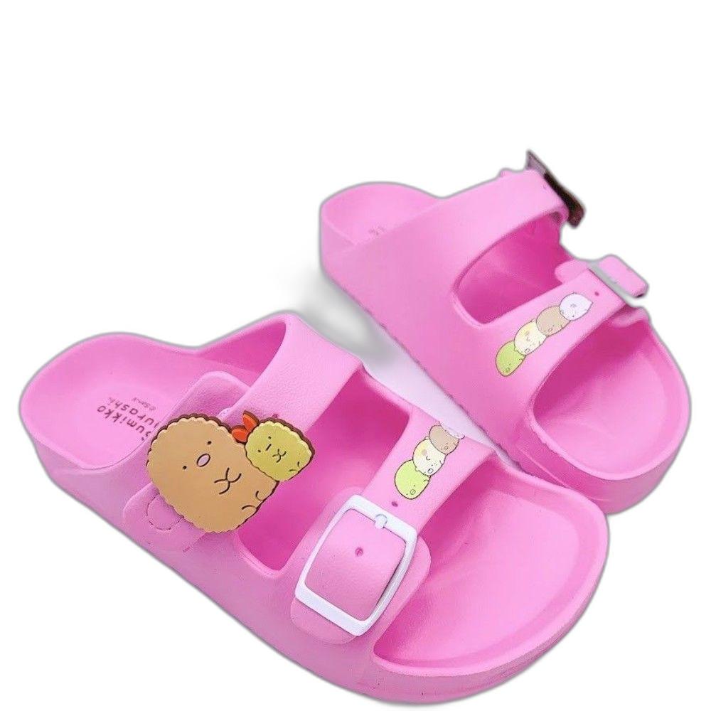 B020-台灣製角落生物拖鞋-粉色