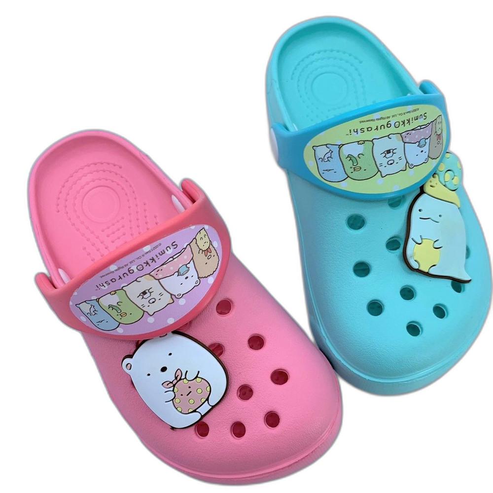 台灣製角落生物布希鞋-湖水綠