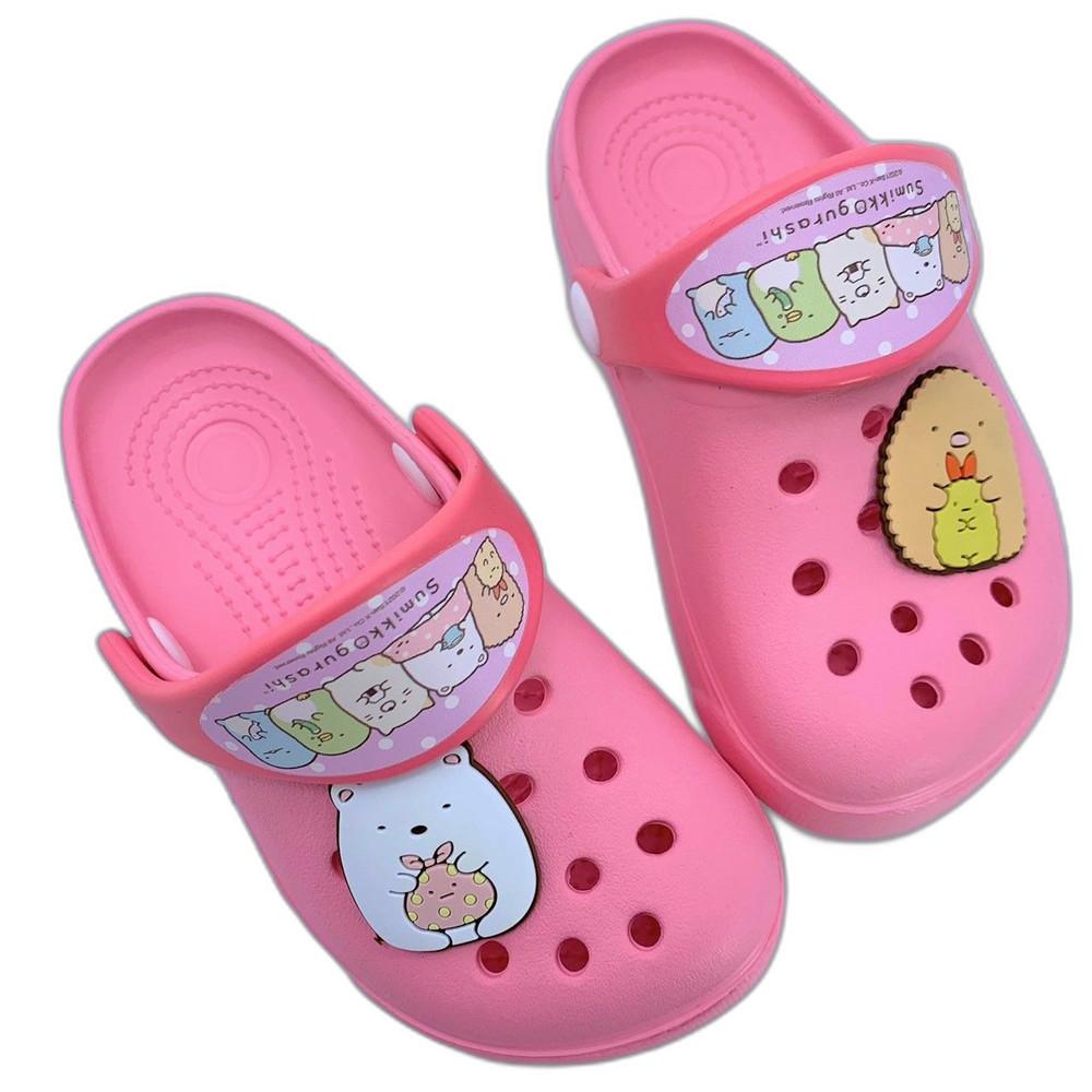 B025 - 台灣製角落生物布希鞋-粉紅