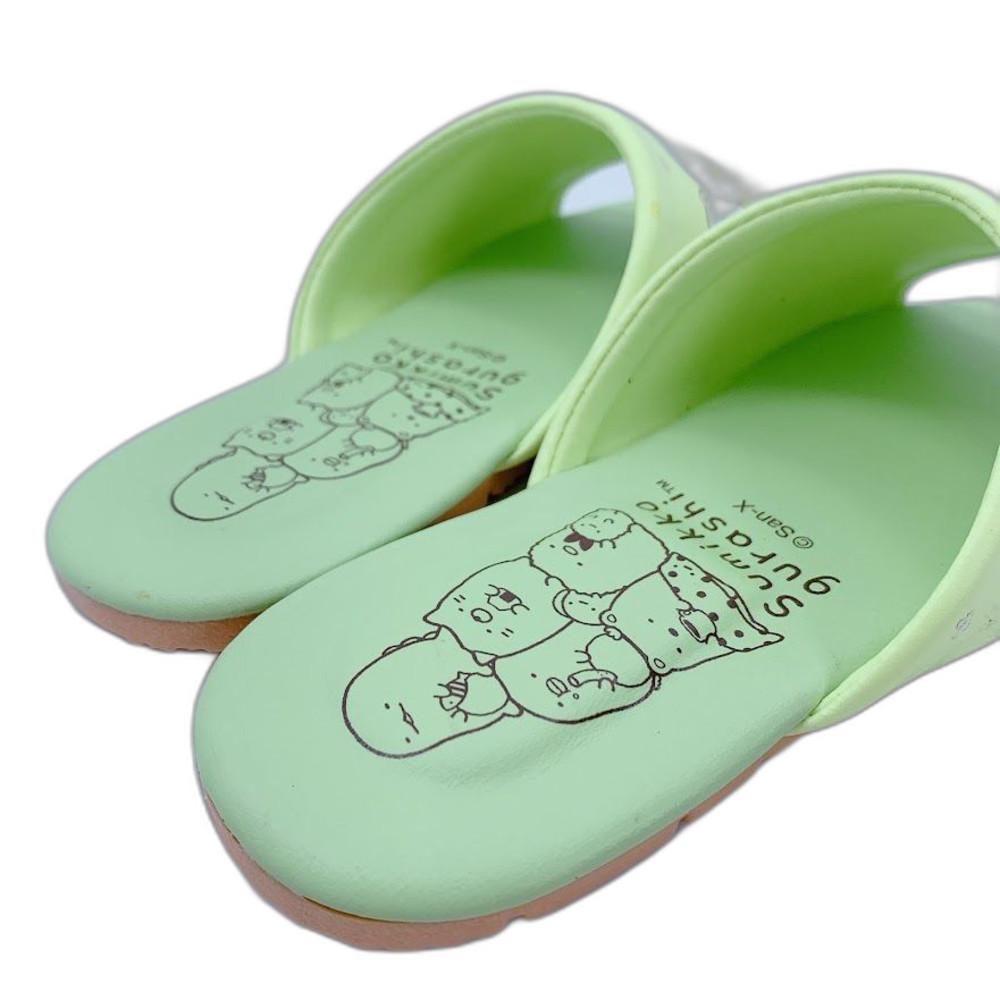 台灣製角落生物室內鞋-綠色