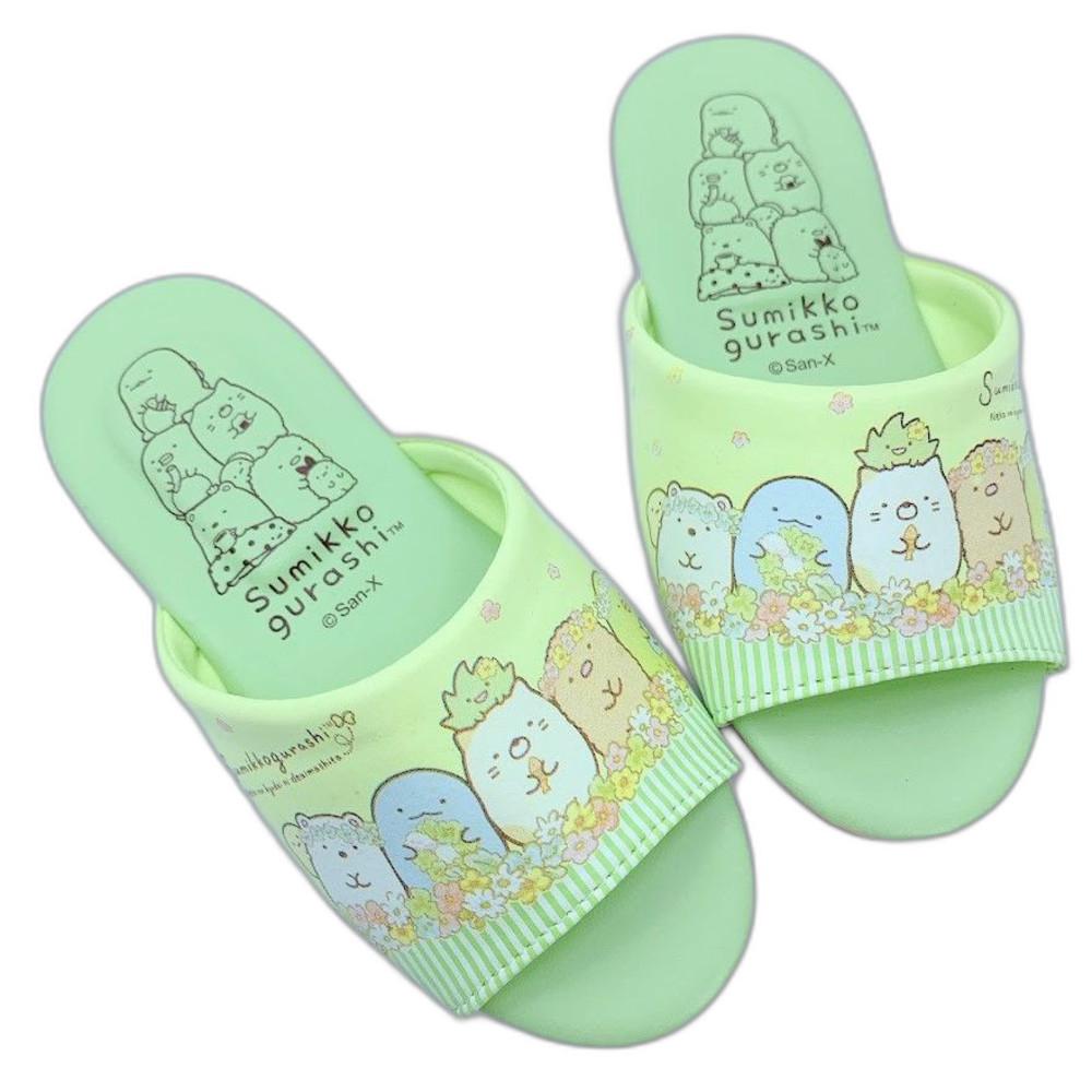 B026-2-台灣製角落生物室內鞋-綠色