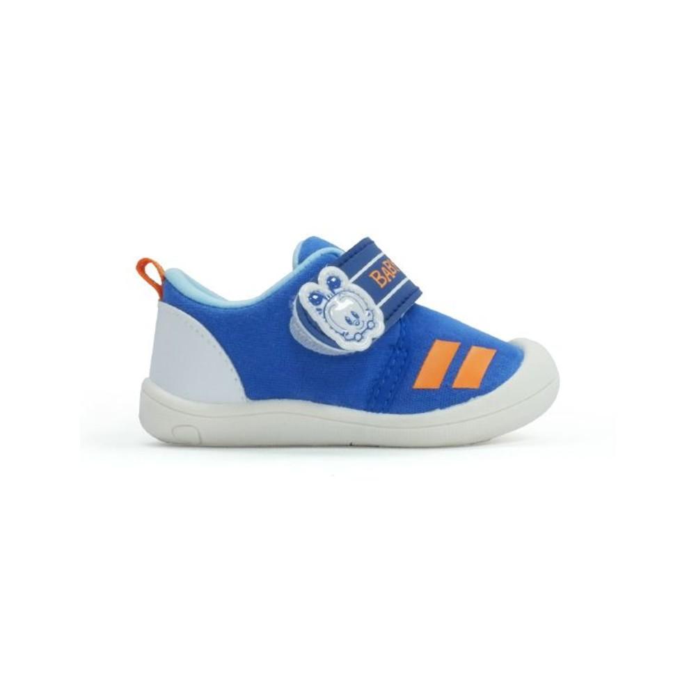 MIT小圓頭防踢撞包鞋-藍
