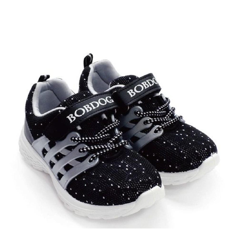 C006-MIT太空混織休閒鞋-黑