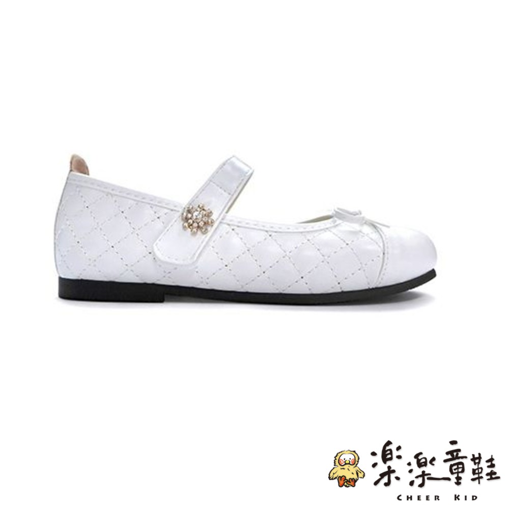 MIT菱格鑽花公主鞋