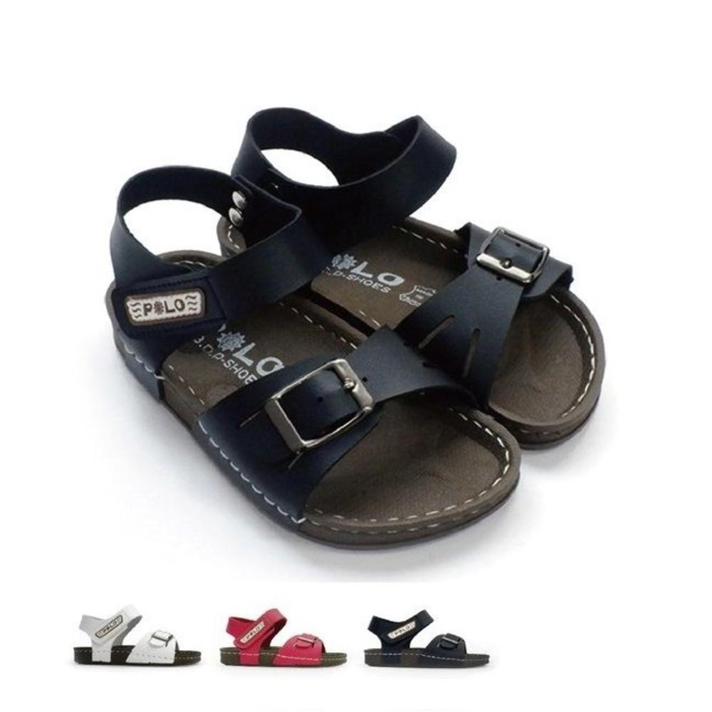 C015 - MIT金屬釦帶涼鞋