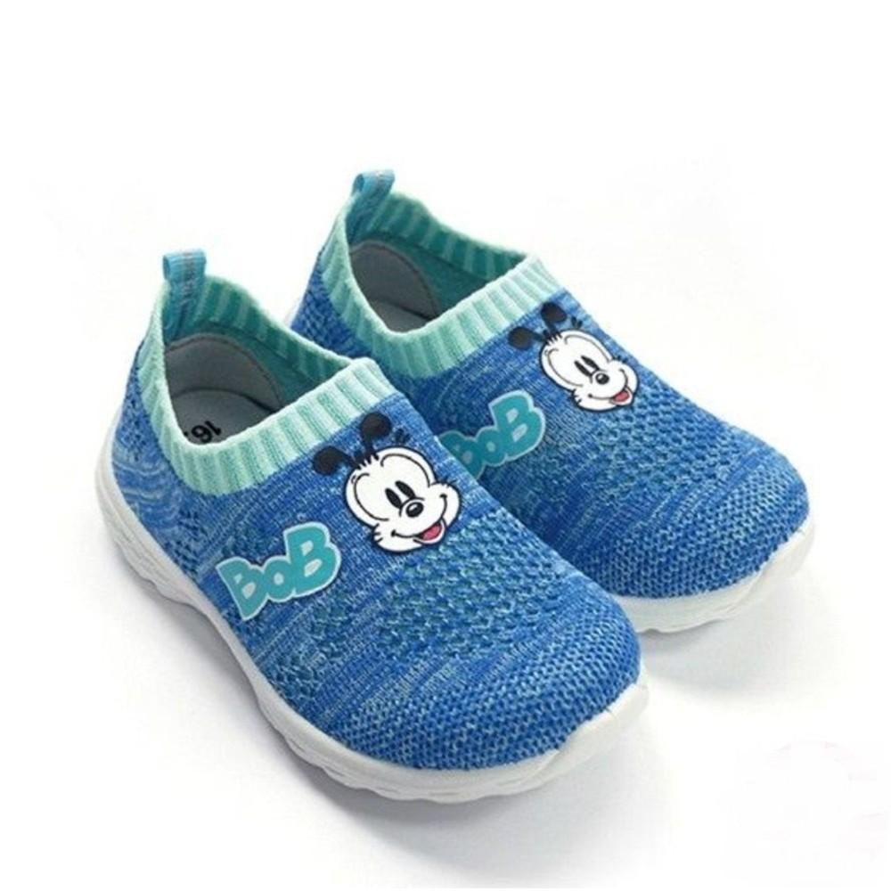 C018-2-MIT透氣襪套鞋-藍