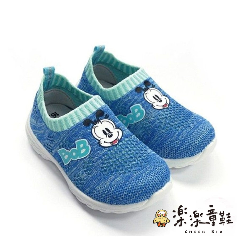 C018-2 - 【台灣現貨】MIT透氣襪套鞋-藍