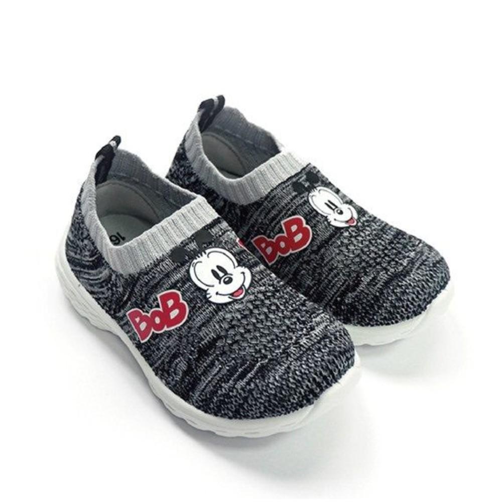 C018 - MIT透氣襪套鞋-黑