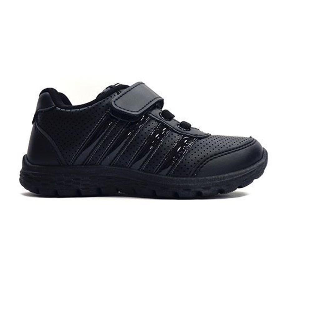 【台灣製現貨】MIT親子款皮面透氣休閒鞋-白