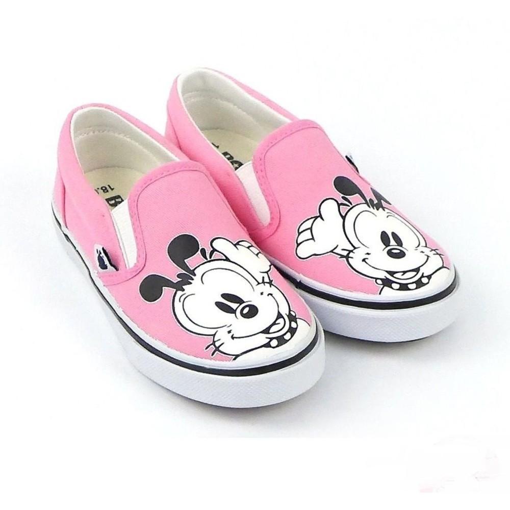 C023-1 - 【台灣製現貨】MIT巴布豆懶人鞋-粉