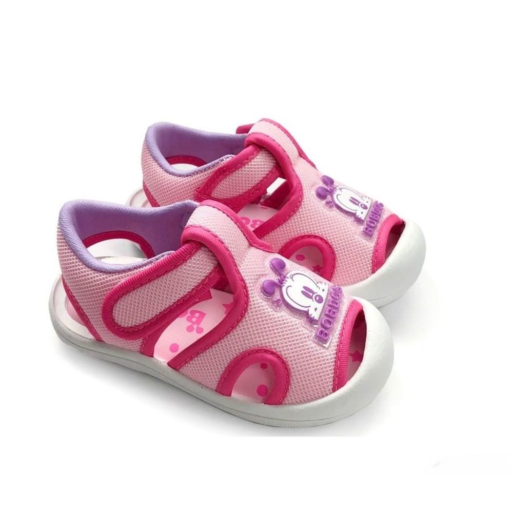 【台灣製現貨】MIT圓頭護趾涼鞋-藍