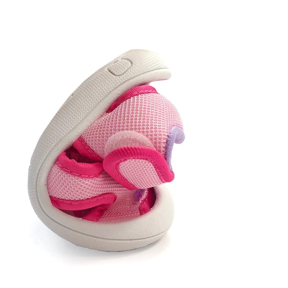 MIT圓頭護趾涼鞋-粉