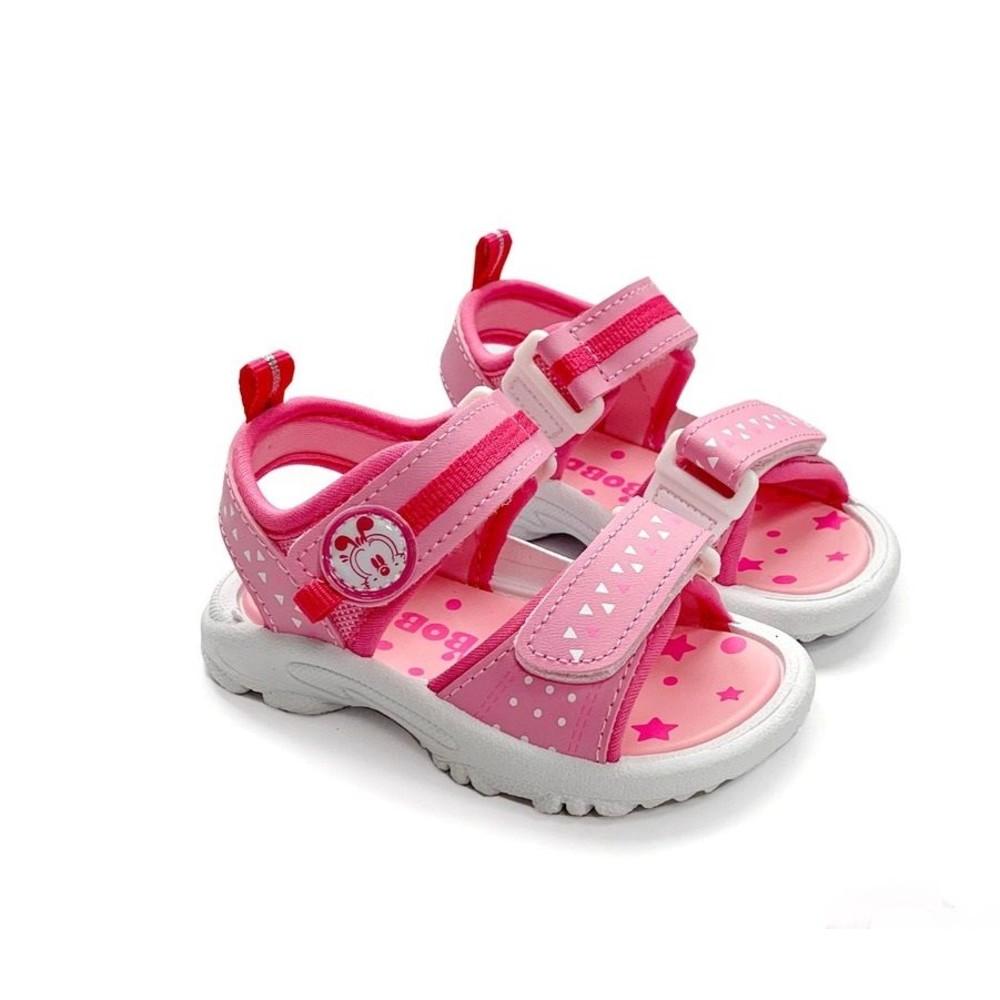 C027-1-MIT彈力涼鞋-粉