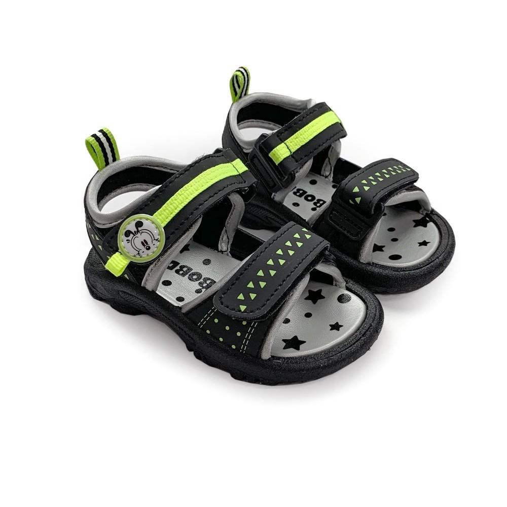 C027-【台灣製現貨】MIT彈力涼鞋-黑