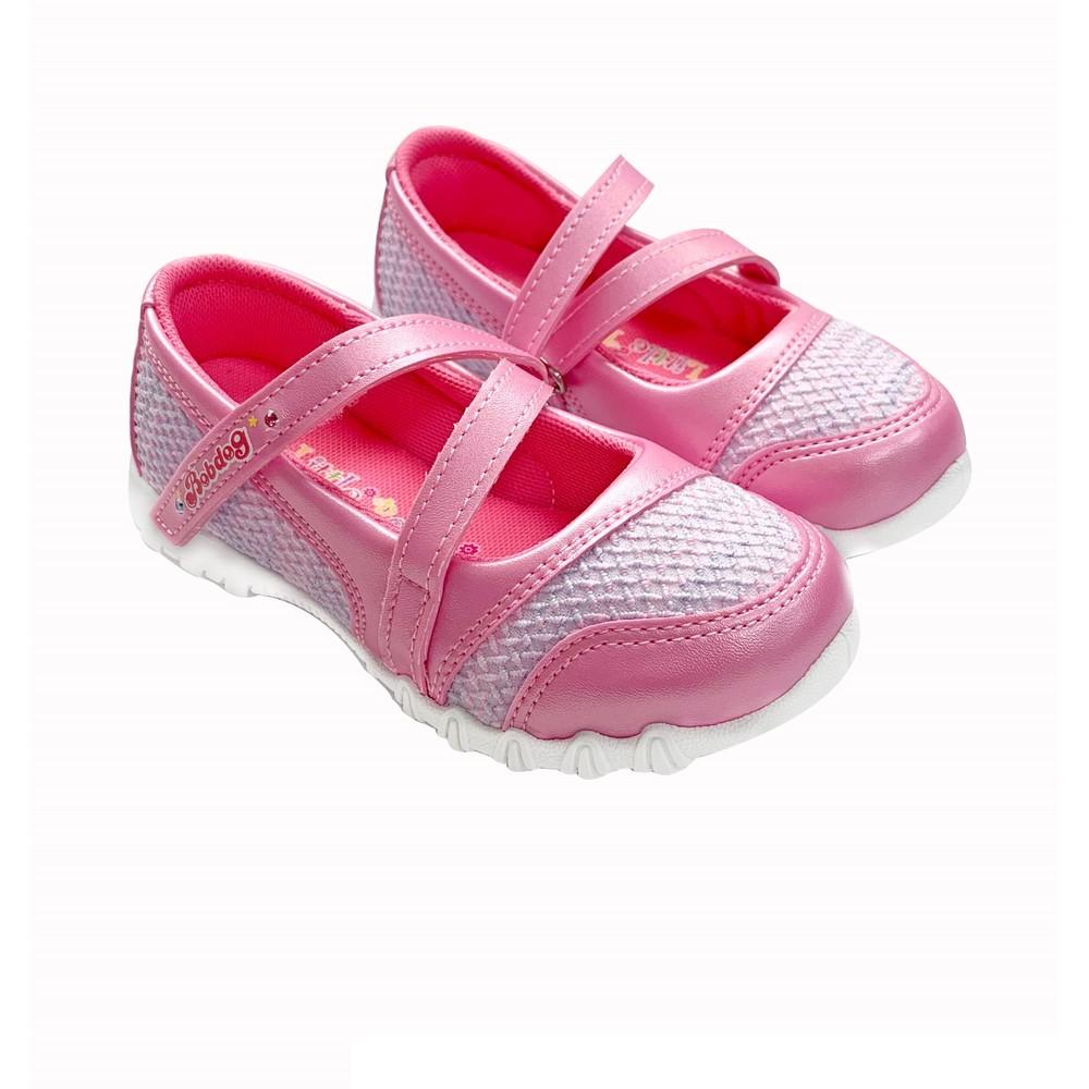 C028-MIT繞帶公主鞋-粉