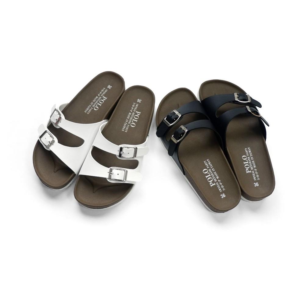 C034-【台灣製現貨】MIT雙帶親子拖鞋