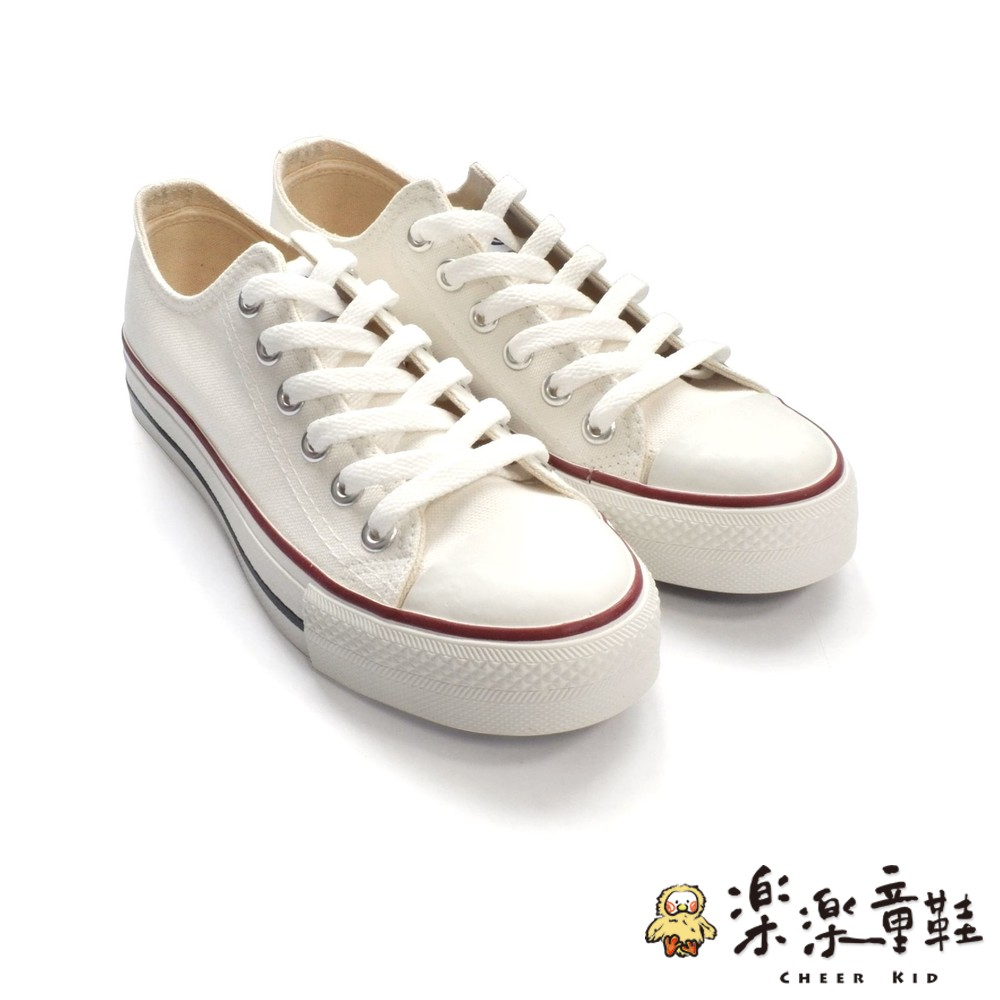 C035 - MIT經典帆布鞋-白
