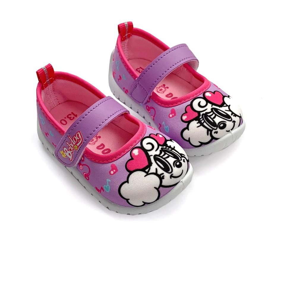 C038-【台灣現貨】MIT巴布豆娃娃鞋-紫