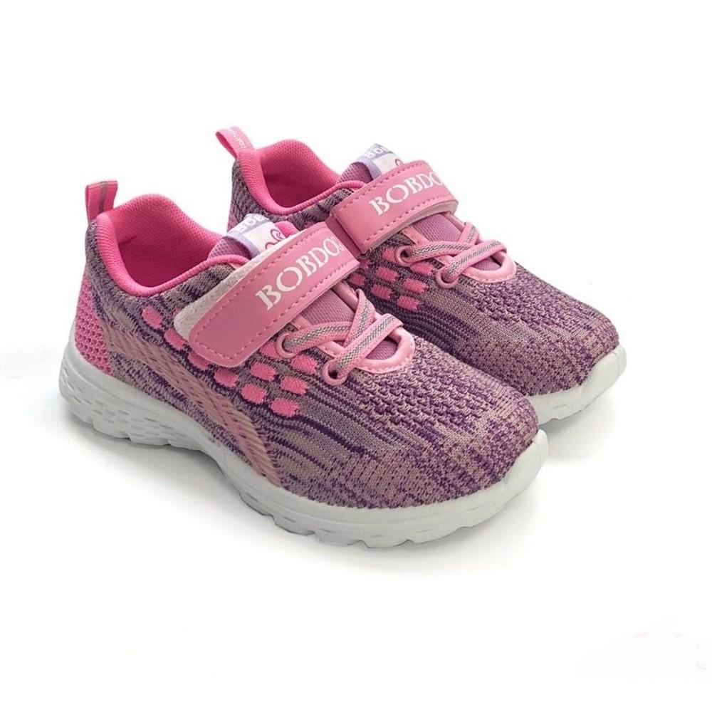 C040-1 - MIT針織運動鞋-粉