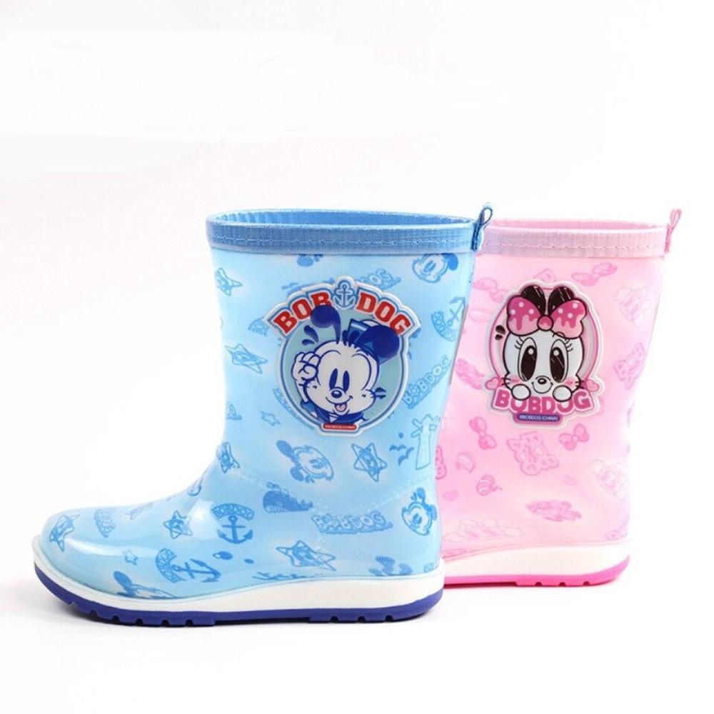 C048-【台灣現貨】巴布豆卡通雨鞋