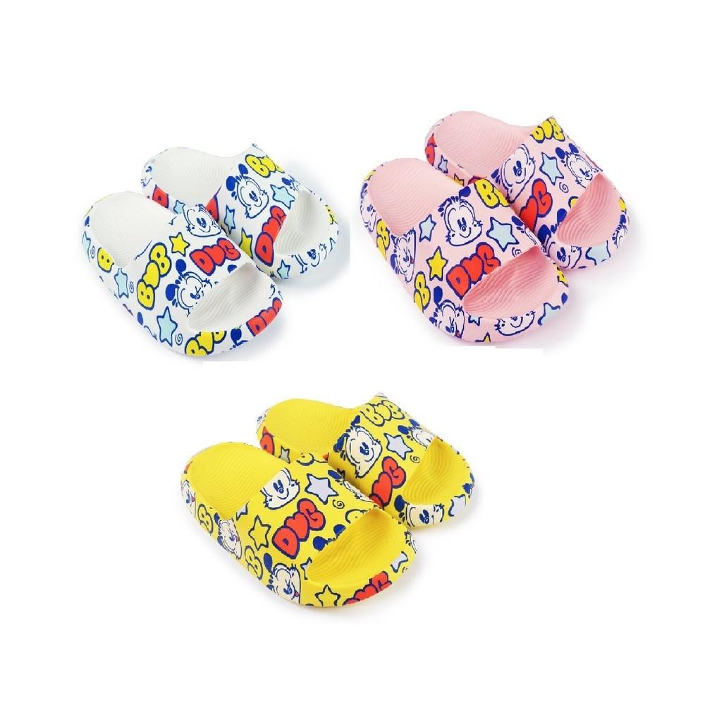 C049-【台灣現貨】巴布豆卡通圖案拖鞋