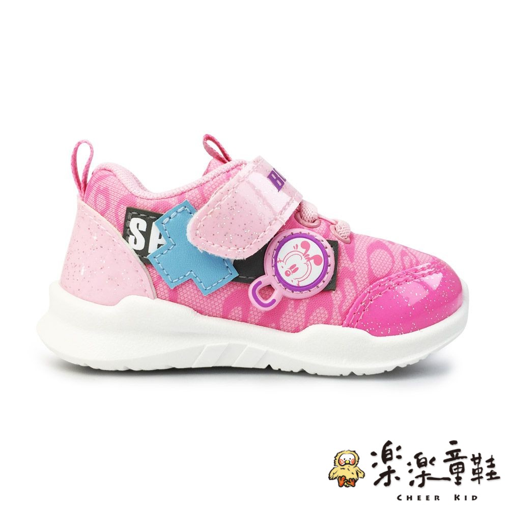 【台灣製現貨】巴布豆輕量透氣休閒鞋-粉色