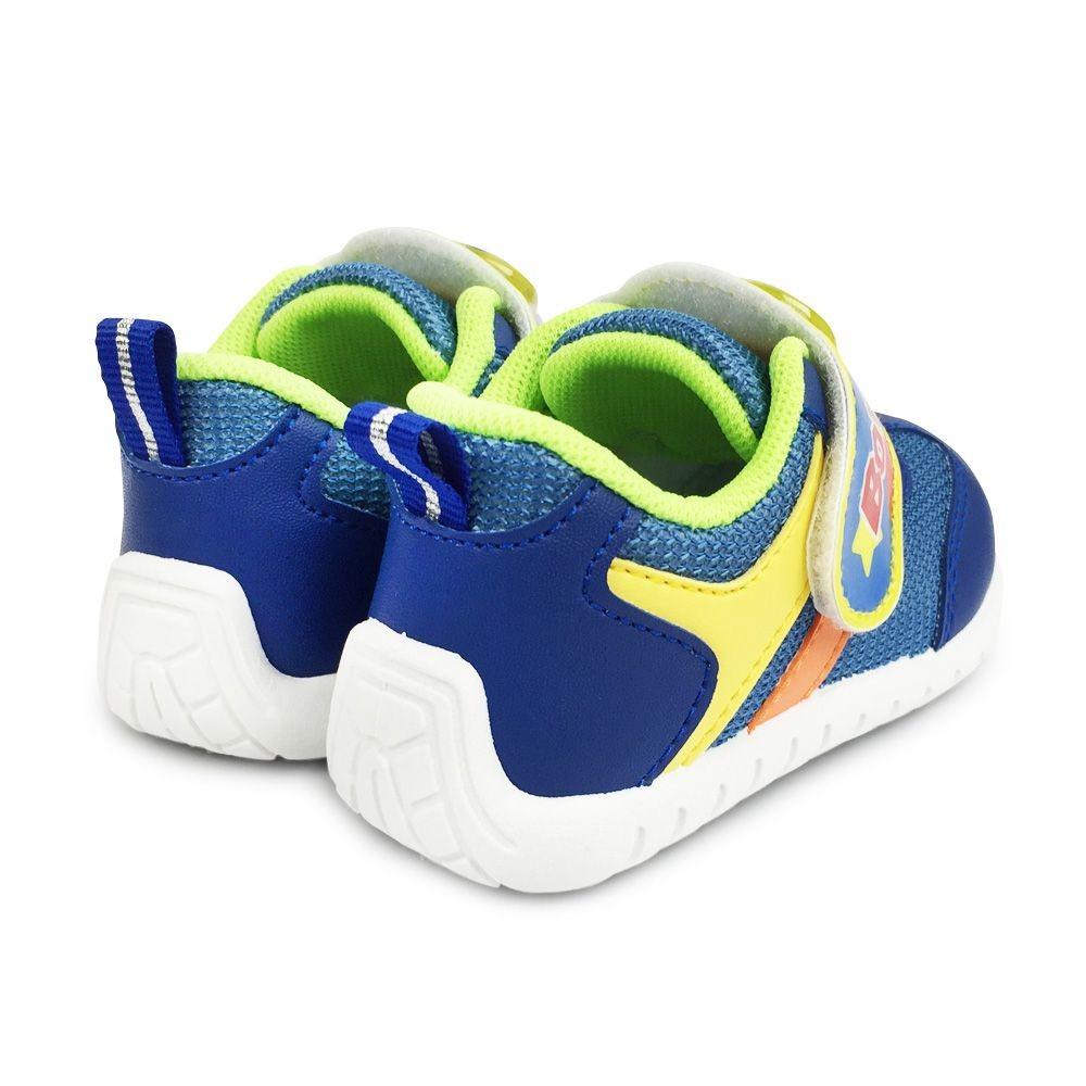 【台灣製現貨】巴布豆運動電燈鞋-藍色