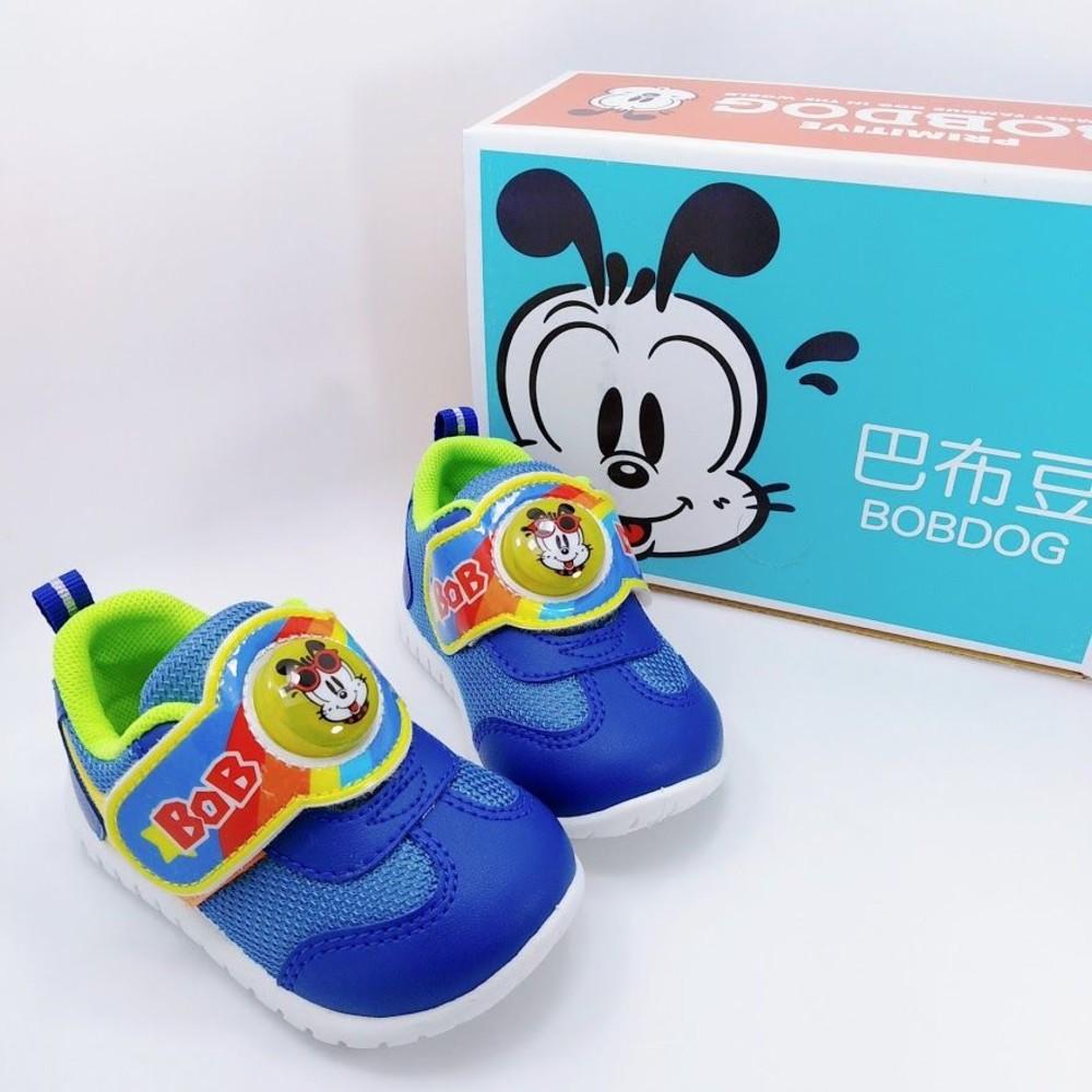 C079-【台灣製現貨】巴布豆運動電燈鞋-藍色