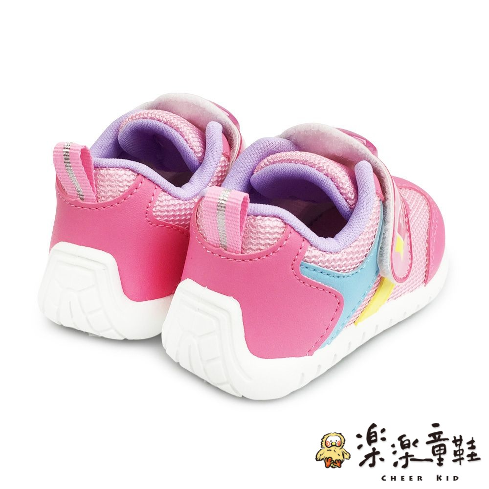 【台灣製現貨】巴布豆運動電燈鞋-粉色