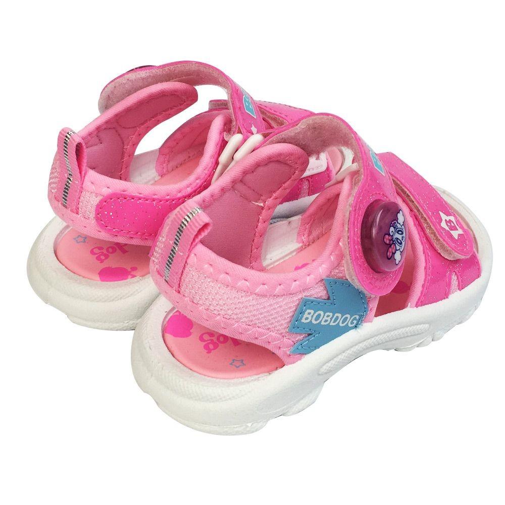 台灣製巴布豆電燈涼鞋-藍色