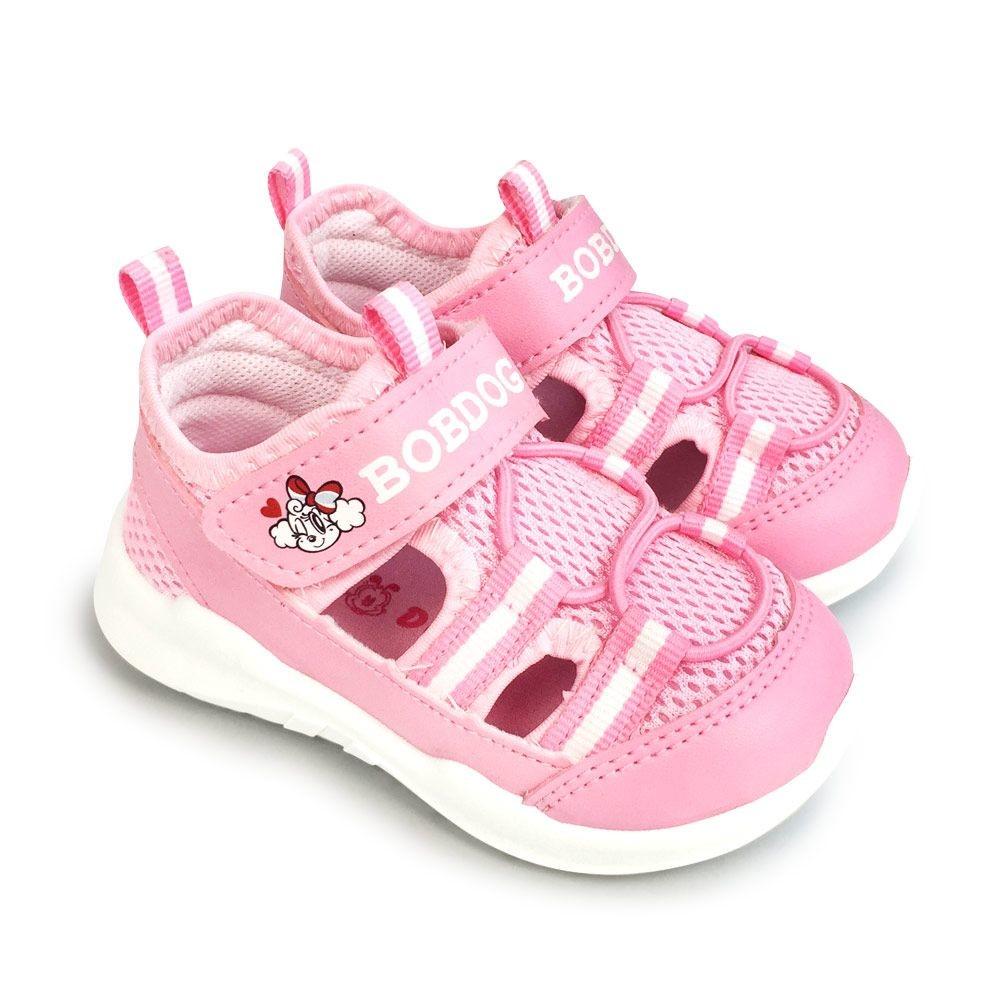 C088-1-台灣製巴布豆運動涼鞋-粉色