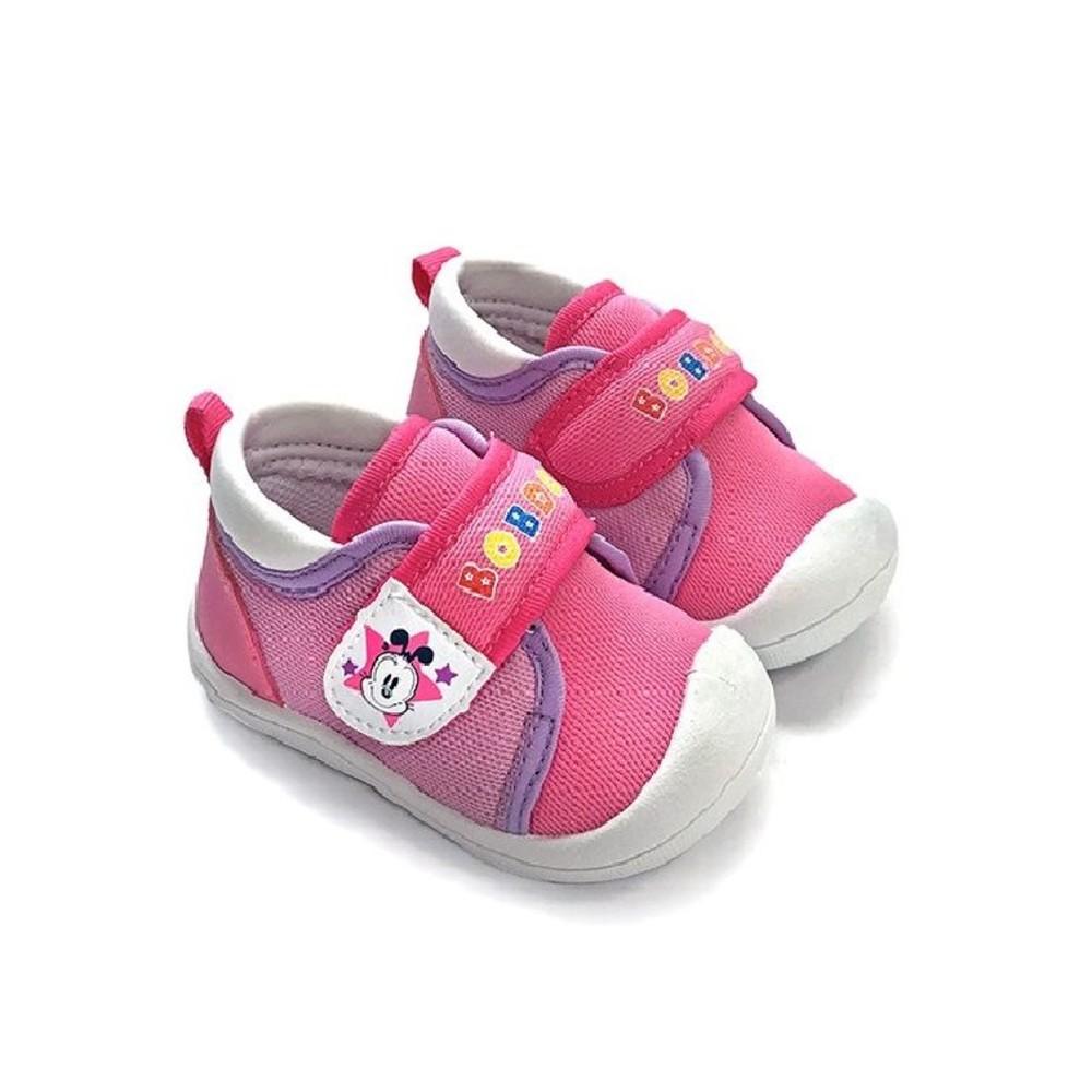 C093-1-台灣製防撞圓頭寶寶鞋-粉桃