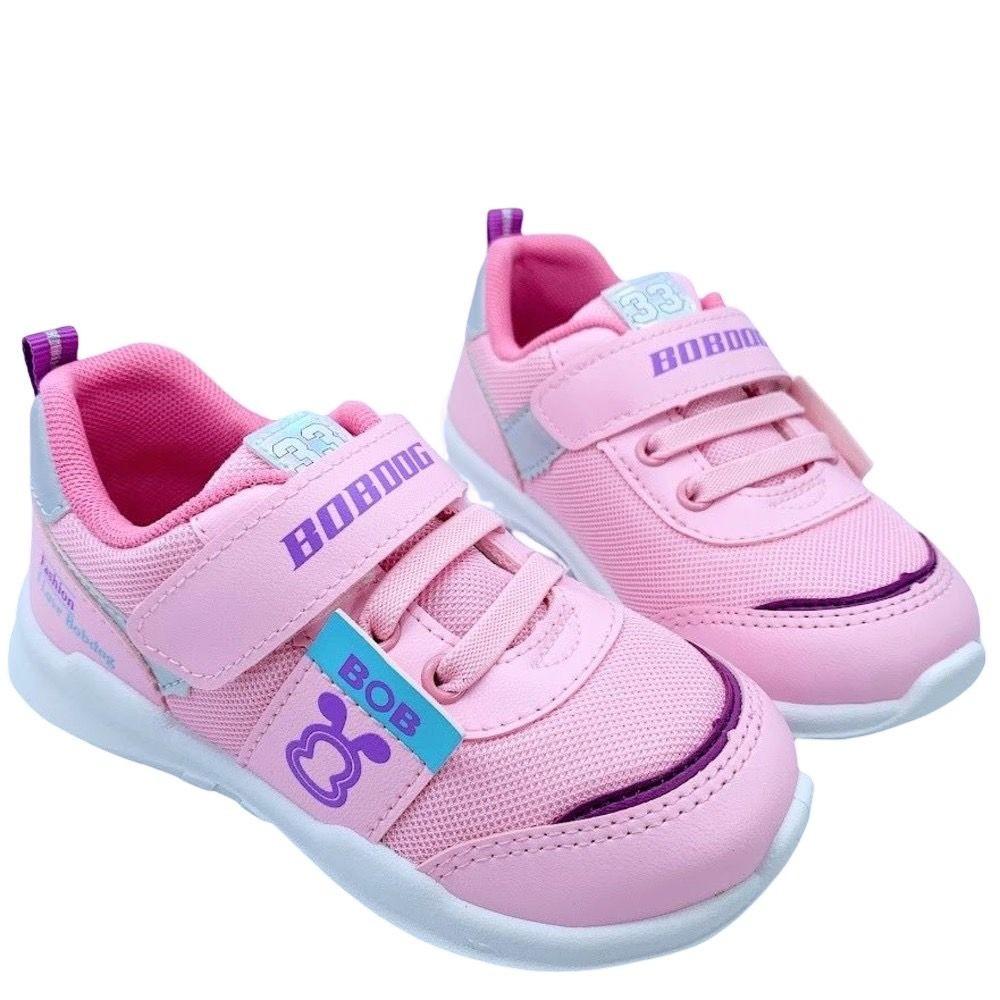C100-台灣製巴布豆透氣運動鞋-粉色