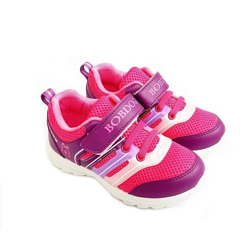 C105-1-台灣製巴布豆輕量運動鞋-桃紫