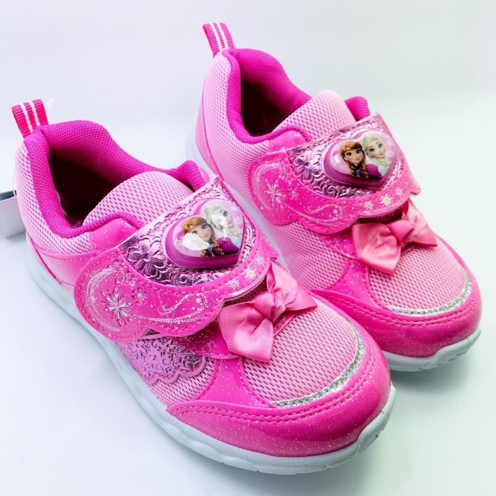 F007-【台灣現貨】冰雪奇緣閃燈運動鞋