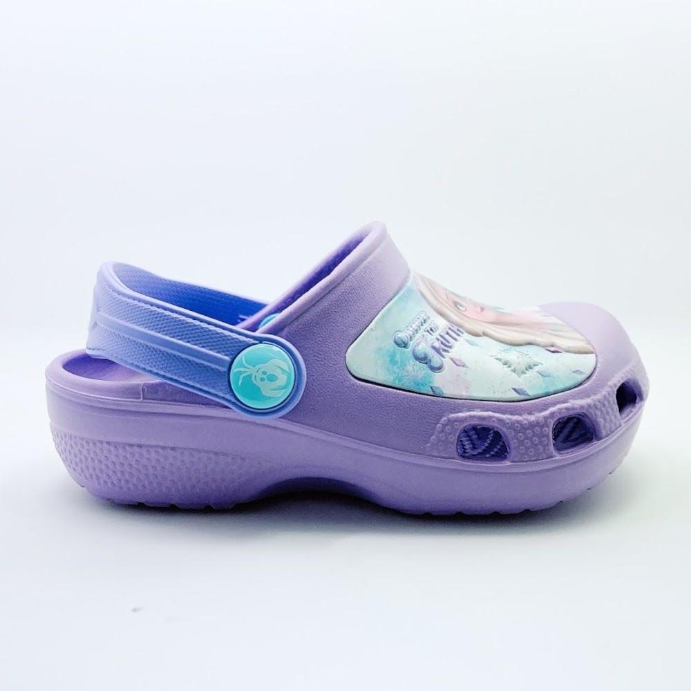 冰雪奇緣布希鞋-紫